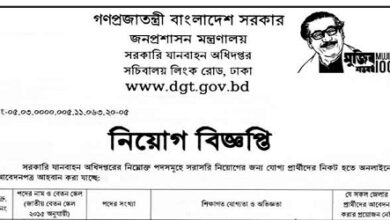 Photo of Job Circular Ministry of Public Administration