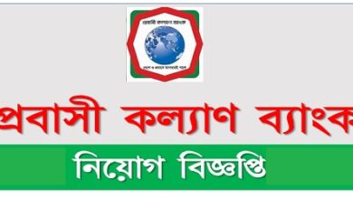 Photo of Probashi Kallyan Bank Job Circular