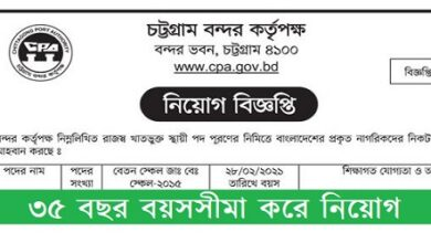 Photo of Chittagong Port Authority Job Circular 2021