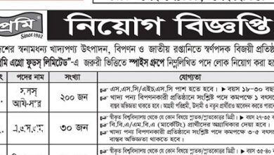 Photo of Prome Agro Foods Ltd Job Circular