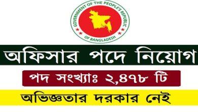 Photo of Bangladesh Bank Job Circular- erecruitment.bb.org.b