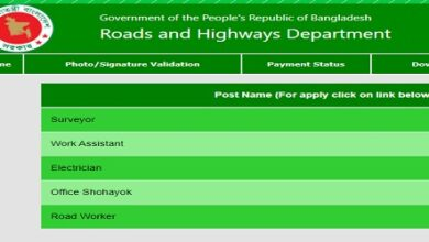 Photo of Department of Roads and Highways Job Circular