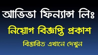 Photo of Aviva Finance Limited Job Circular