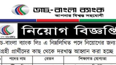 Photo of Job Circular Dutch Bangla Bank 2021