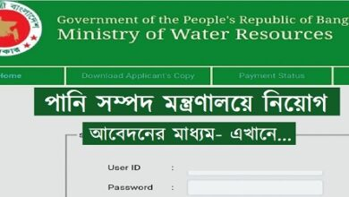 Photo of Ministry of Water Resources Job Circular