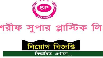 Photo of Sharif Super Plastics Limited Job Circular