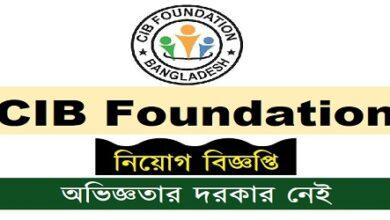 Photo of CIB Foundation Job Circular