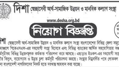 Photo of Desha Job Circular
